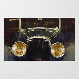 Vintage Rolls Royce Rug