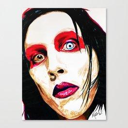 M. Manson Canvas Print