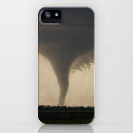 Tornado On the Ground at Salina Kansas iPhone Case