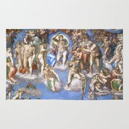 """Michelangelo """"Last Judgment"""" Rug"""