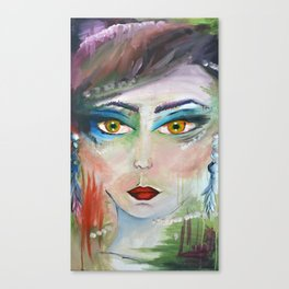 Muse in Color Canvas Print