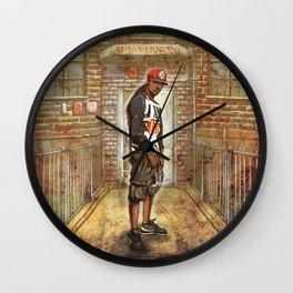 I Am Queensbridge Wall Clock
