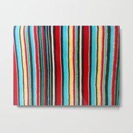 sasazuka knit Metal Print