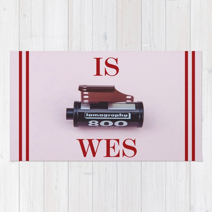 Wes Anderson Rug