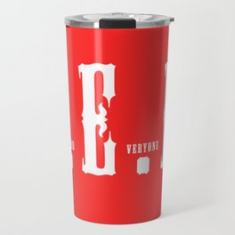 RED(R.E.D.) Travel Mug