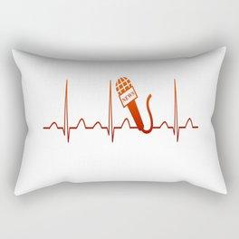 NEWSCASTER HEARTBEAT Rectangular Pillow