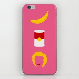 Iconic Painters: Pope of Pop iPhone Skin