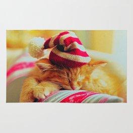 Kitty Christmas Rug