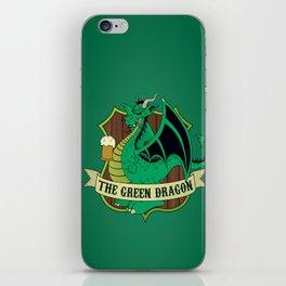 The Green Dragon Pub iPhone Skin