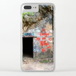 Hello Puerto Rico! Clear iPhone Case
