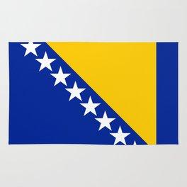Bosnia And Herzegovina Flag Rug