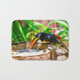 Fiery-billed Toucan Bath Mat