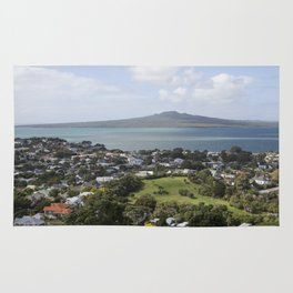 Rangitoto Island Auckland Rug