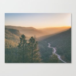 Santa Fe National Forest, New Mexico Canvas Print