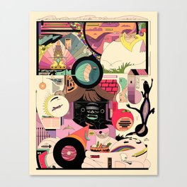NBFDKL Canvas Print