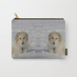 Patricia the Snow Dog Carry-All Pouch