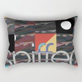 patch camo (extend) Rectangular Pillow