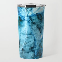 Blue crystal Travel Mug