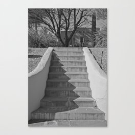 Above the Stairs Canvas Print