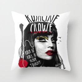 Rosalyne Crowe Throw Pillow