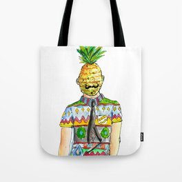 Mr. Pineapple Tote Bag