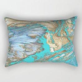 Woody Water Rectangular Pillow