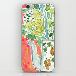 Think Happy Floral iPhone Skin