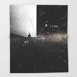 Out of Time Throw Blanket