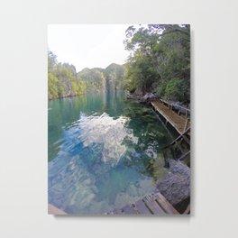 Kayangan lake Metal Print