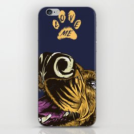 Love me iPhone Skin