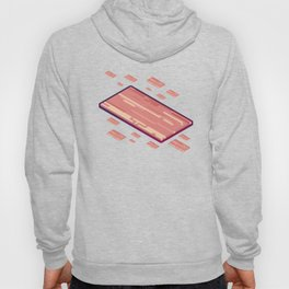A Fleet of Baconships Flying Through Baconspace Hoody