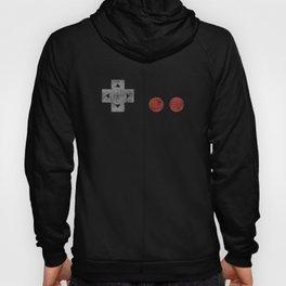 Mens Retro 8-Bit Controller Gamer Pixel Art Vintage Shirt Hoody