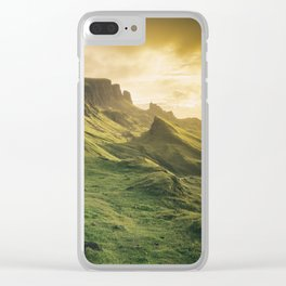 Mesmerized By the Quiraing IV Clear iPhone Case