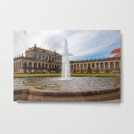 Zwinger. Dresden Metal Print