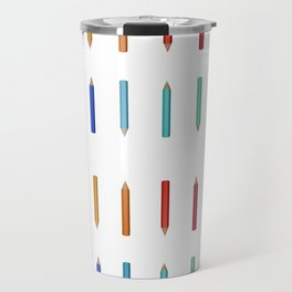 Pencils Travel Mug