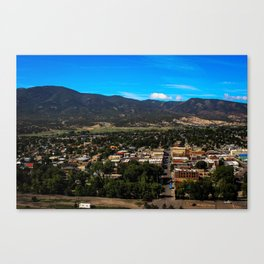 Salida Colorado Landscape  Canvas Print