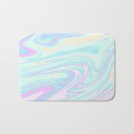 Bubblegum Marble Bath Mat