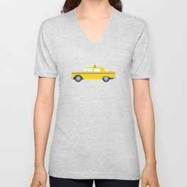 New York Yellow Taxi Unisex V-Neck