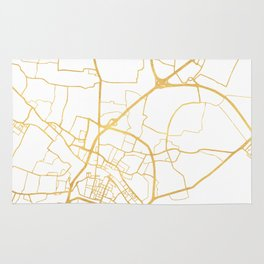 VENICE ITALY CITY STREET MAP ART Rug