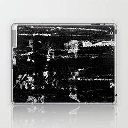 Distressed Grunge 102 in B&W Laptop & iPad Skin