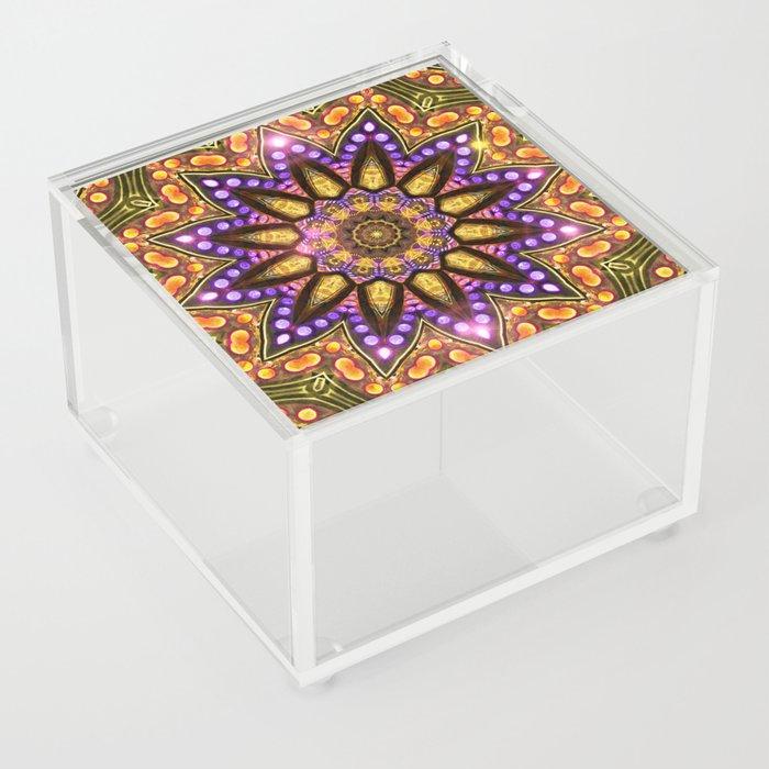 Bohemian Sun Acrylic Box