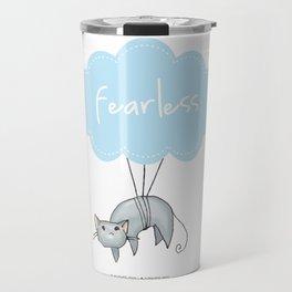 Fearless Cat Travel Mug