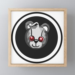Bear witness Framed Mini Art Print