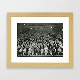Vintage Photo - Mickey Mouse Club Framed Art Print