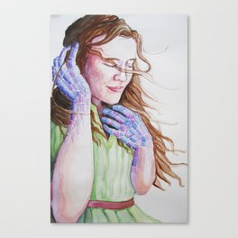 Hands of Glass Canvas Print