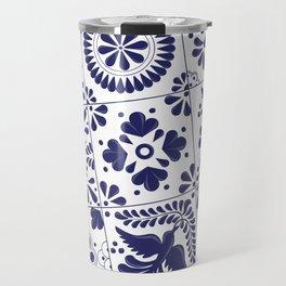 Talavera Mexican Tile Travel Mug