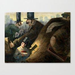 Illustration, Immersion., hate Canvas Print