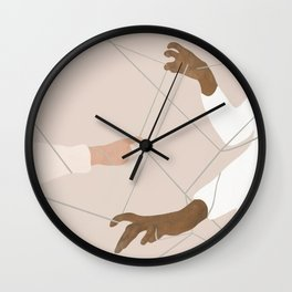 Wired Together Wall Clock
