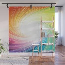 Rainbow background Wall Mural