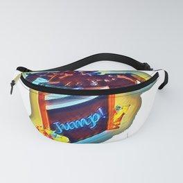 Colorful Grand Prix Horse Jumper Fanny Pack